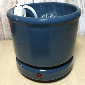 Other - NWT Ceramic Cachepot Candle Warmer French Blue 👀